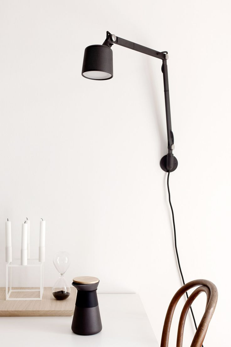 Vipp wall lamp - via cocolapinedesign.com