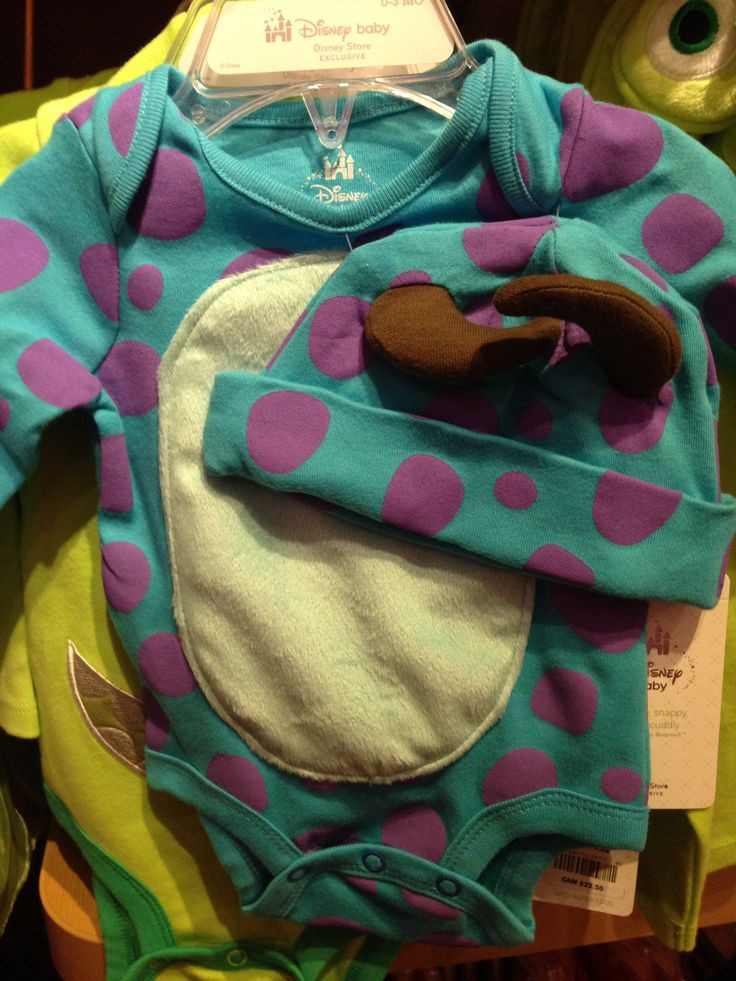 Baby sully onsie
