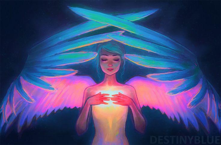 Inner Glow by DestinyBlue.deviantart.com on @DeviantArt