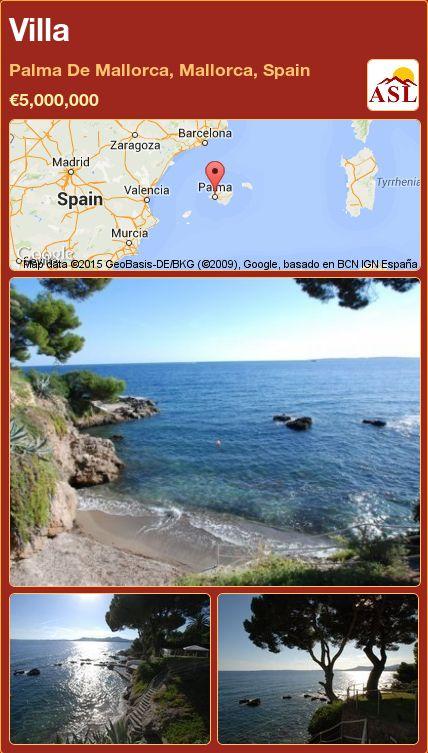 Villa in Palma De Mallorca, Mallorca, Spain ►€5,000,000 #PropertyForSaleInSpain