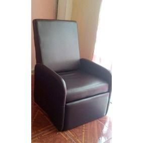 Sillón Sofa Reclinable De Cuero