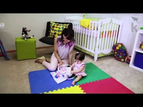 Fine motor skills development for babies - this is an early education video for moms to carry out with their child.