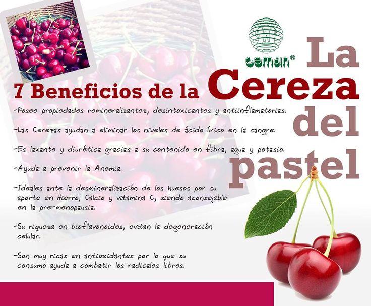 7 Beneficios de la cereza