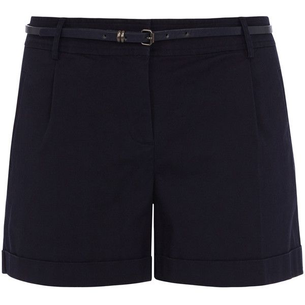 See this and similar Oasis shorts - A true summer hero, these casual shorts feature a mid rish and a skinny belt. The shorts feature a concelaed zip fly and fou...