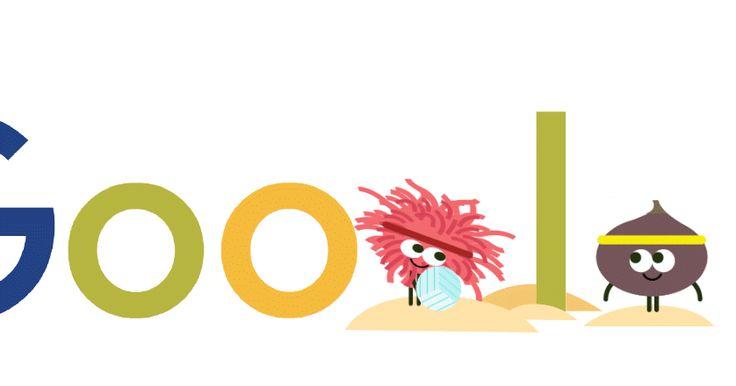 FructiJuegos de Google Día 14 Voley playa Juegos Olímpicos de Río de Janeiro…
