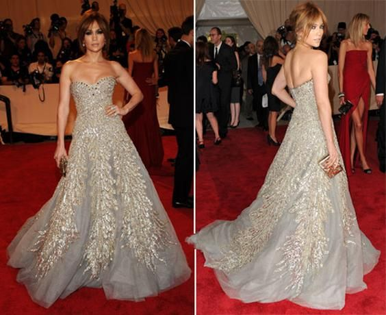 Jennifer Lopez Wedding Dress