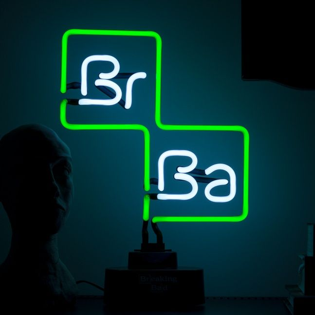Lampka Breaking Bad logo