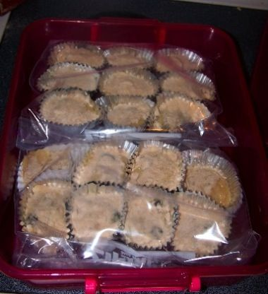 Freezer muffins ~ make batter, pour in muffin tin, then freeze.  Bake fresh in the morning.  Really? I have got to try this!: Freezers Breakfast, Freezers Cooking, Muffins Pan, Freezers Meals, Freezers Recipes, Baking Frozen, Frozen Muffins, Freezers Muffins, Freezers Ideas