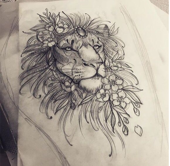 ... Lion Tattoo on Pinterest | Tattoos Tribal Lion Tattoo and Lion Tattoo