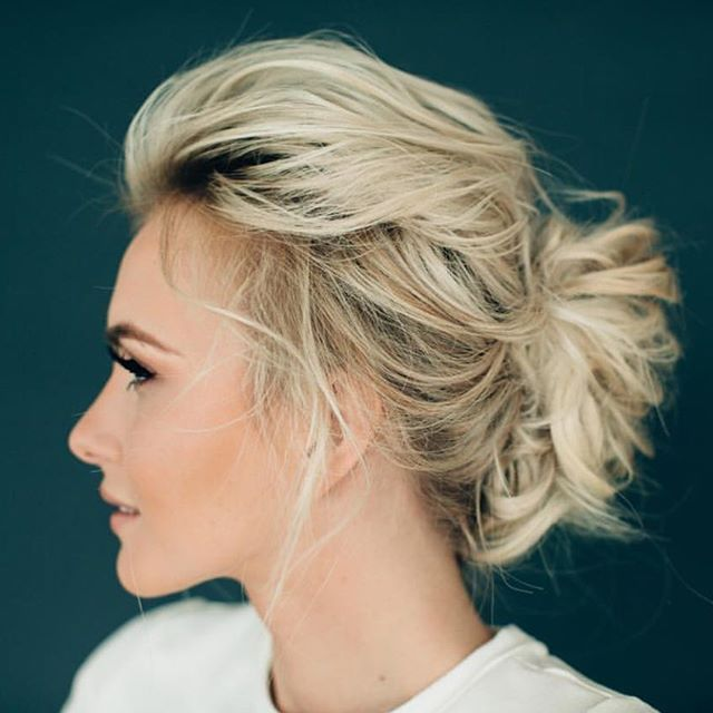 I loved @hairandmakeupbysteph light and airy version of the french twist. I never wanted to wash my hair, seriously I wore it the whole next day.
