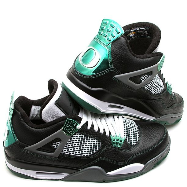 Jordan 4 Retro: #Oregon