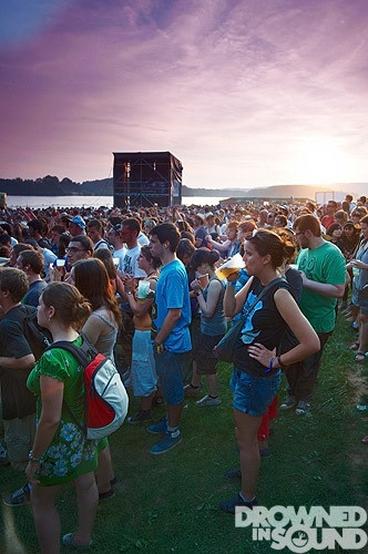 Sunset @ Les Eurockeenes Festival 2010 - by Gary Wolstenholme
