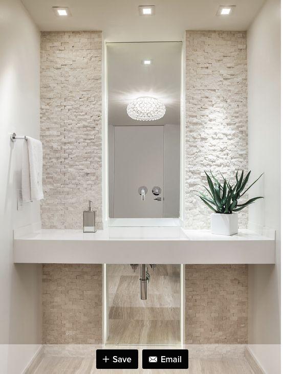 small bathroom wall