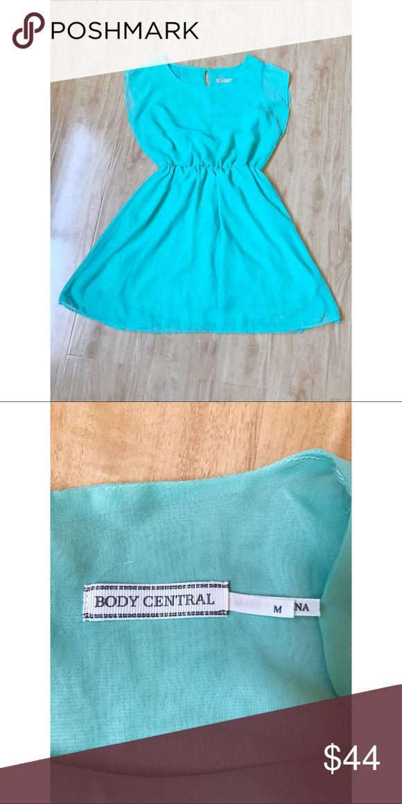 Body Central Teal Dress Medium. Please ask me further questions in the comments, I will be happy to answer! Body Central Dresses