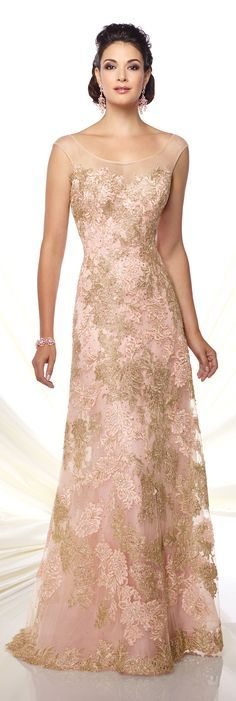 Formal Evening Gowns by Mon Cheri - Spring 2016 - Style No. 116D22 #eveninggowns