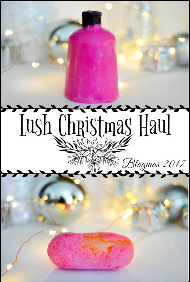 I love Lush at this time of year! Here is my latest Lush Christmas Haul. #blogmas2017 #lush #lushchristmas #blogmas