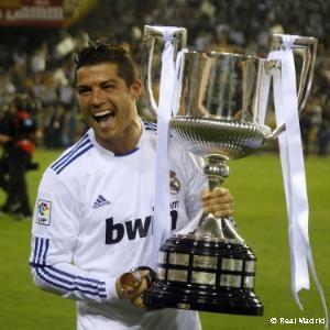 Cristiano con la Copa del Rey