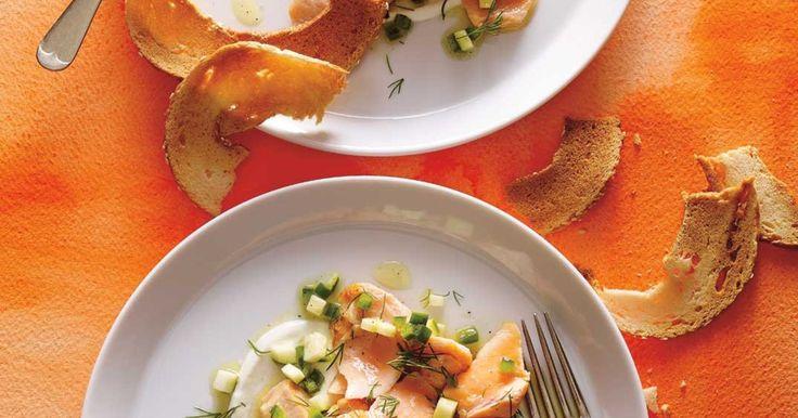 Assiette de saumon froid à l'aneth Recettes | Ricardo