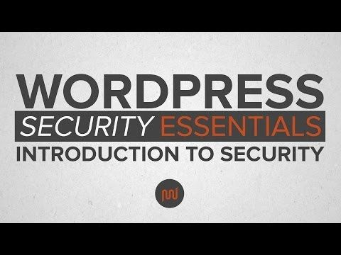 WordPress Security Part1: An Introduction to WP Security
