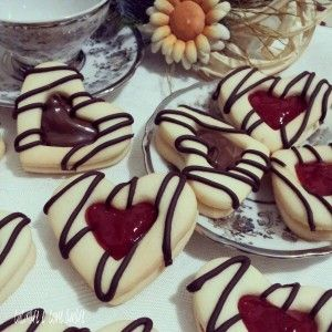 Biscotti San Valentino | cucinare è come amare