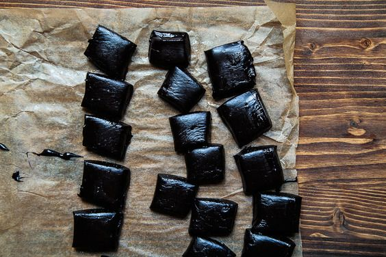 Homemade Black Licorice, a recipe on Food52.  Candy can be tough, but this looks yummy.  I wonder what it would look like if I left out the black coloring?