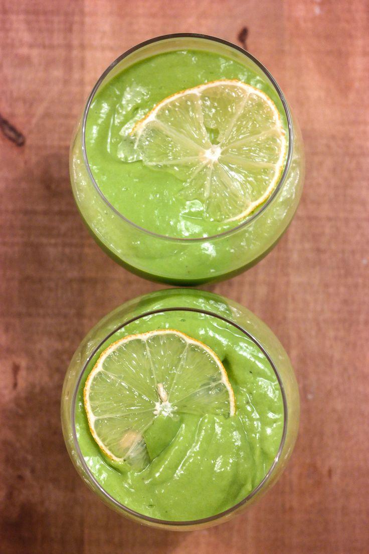 Start dagen med en sjukt grønn smoothie!