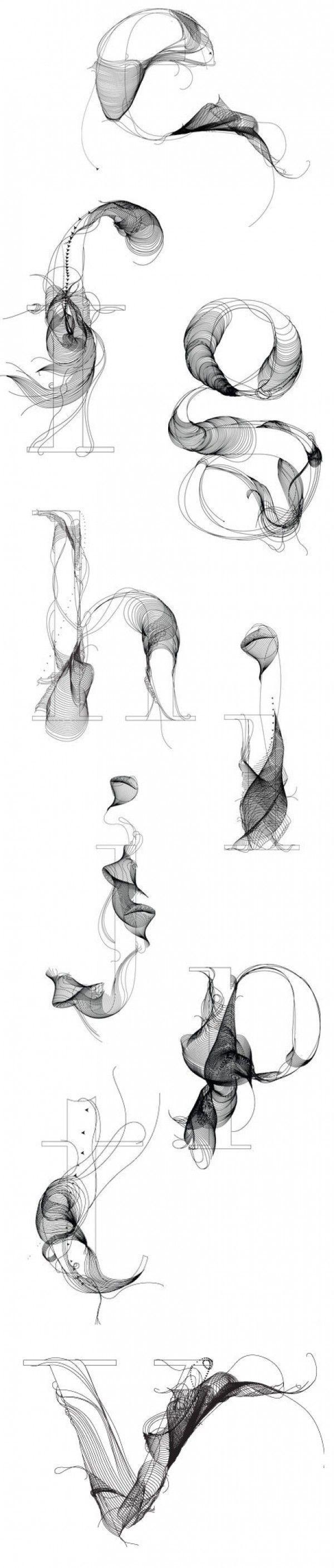 Typographie #10 : Un caractère créatif ! | Blog du Webdesign