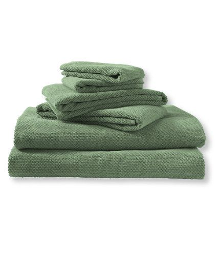 Textured Cotton Towels: Towels   Free Shipping at L.L.Bean