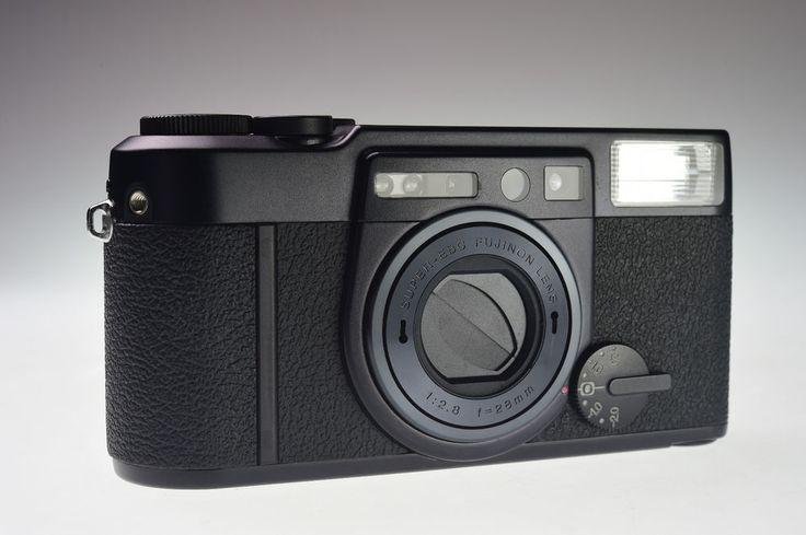 Fujifilm Klasse W Black 35mm Point & Shoot Film Camera Excellent+ #Fujifilm