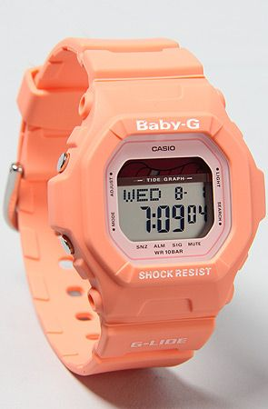 G-SHOCK The BabyG Peach WatchLimited Edition : Karmaloop.com - Global Concrete Culture ($50-100) - Svpply