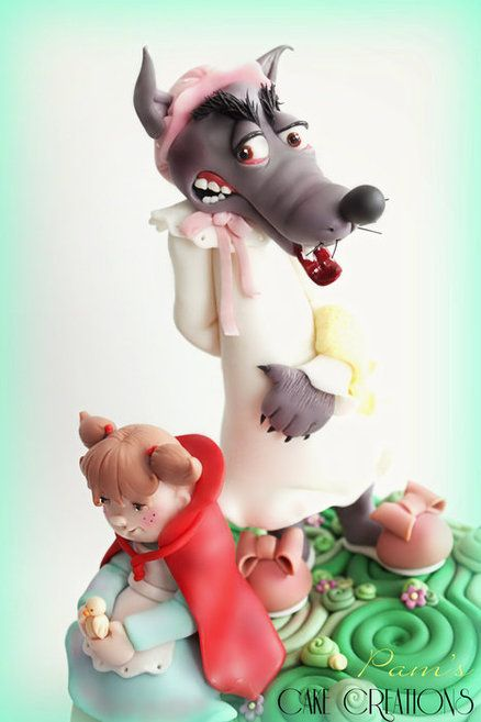 little red riding hood - by PamsCakeCreations @ CakesDecor.com - cake decorating website