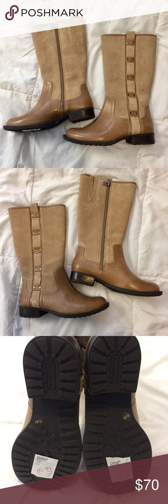 Nwt Boots Suede And Leather Boots Never Worn Very -4772