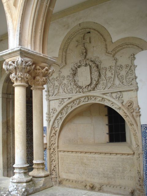 Convent of Christ, Tomar, Portugal, inscribed on Unesco's World Heritage List.