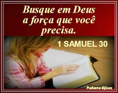 Palavra e Ação : 1 Samuel 30 -Comentários: Pr.  Heber Toth Armí