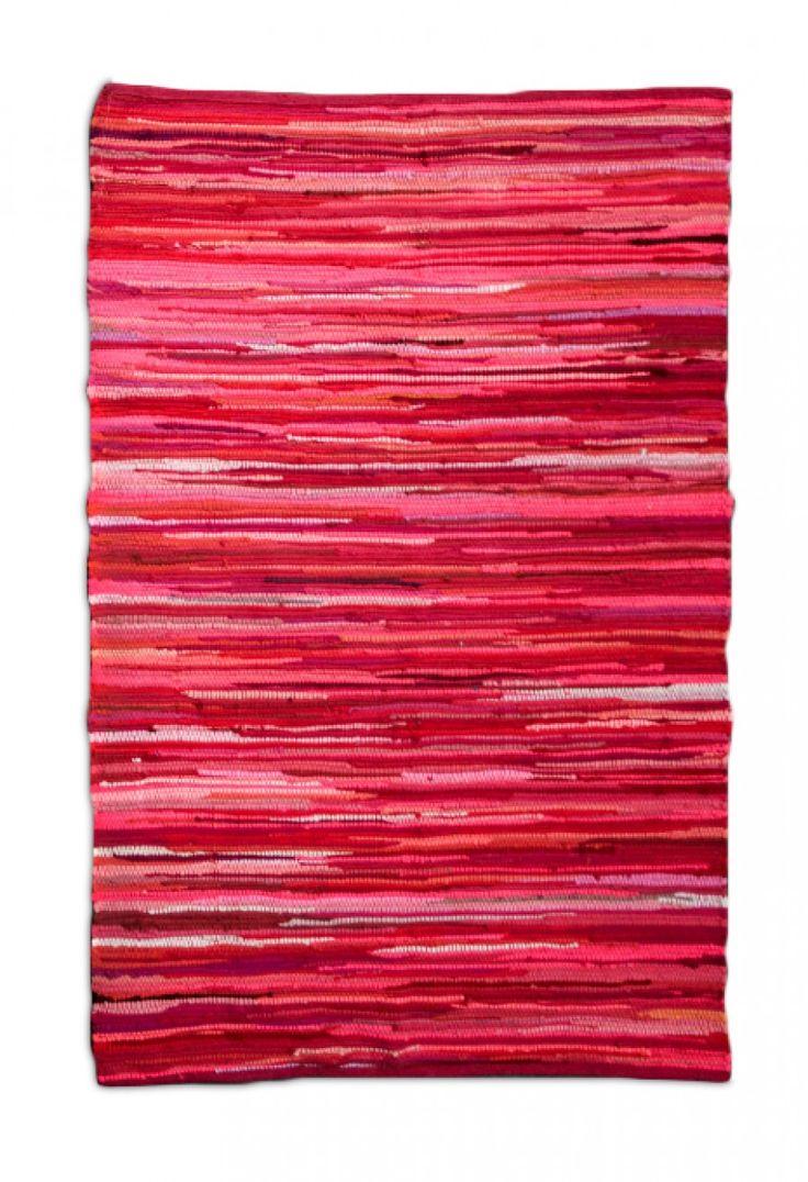 Pink Chindi Tonal Rug