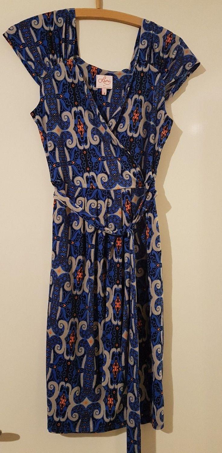 Leona Edmiston Dress Size 8 | eBay