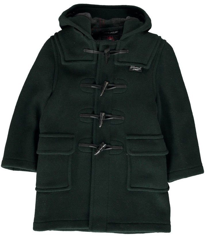 $310, Gloverall Duffle Coat. Sold by Smallable. Click for more info: https://lookastic.com/men/shop_items/383718/redirect
