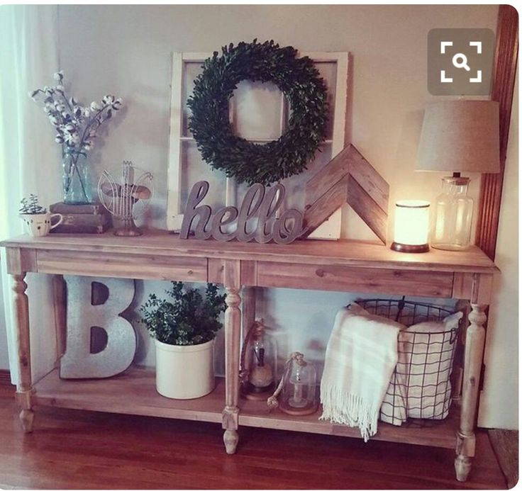 25+ best ideas about Entry Table Decorations on Pinterest ...
