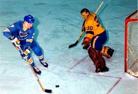 Red Berenson & Terry Sawchuk - 1967-68