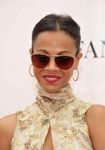 Zoe Saldana Sunglasses