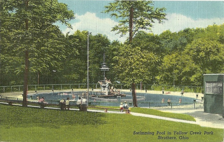 We Called This Swimming Pool In Struthers Ohio Bird Bath Back In The Day Long Gone Now