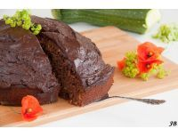 Chocolade - courgette cake