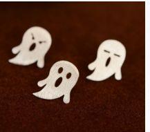 Sevimli hayaletler 925 ayar gümüş küpe Zet.com'da 65 TL