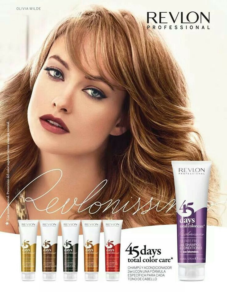 Revlon Professional: 45 Days Shampoo.