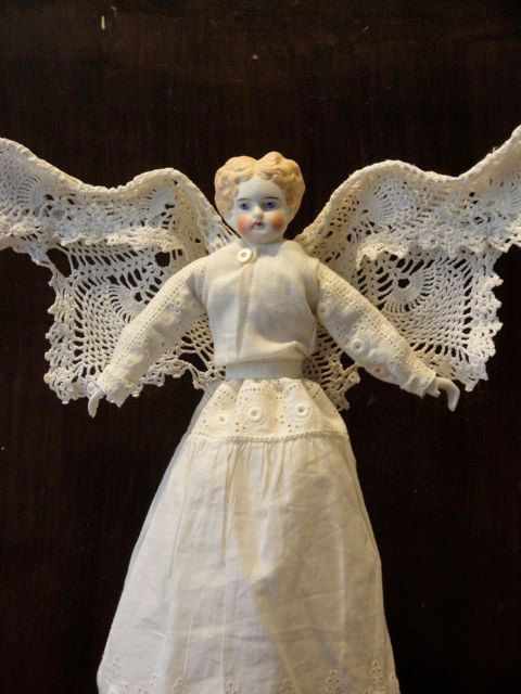 Ella Christmas Tree Angel Topper by TheChristmasAngel on Etsy,