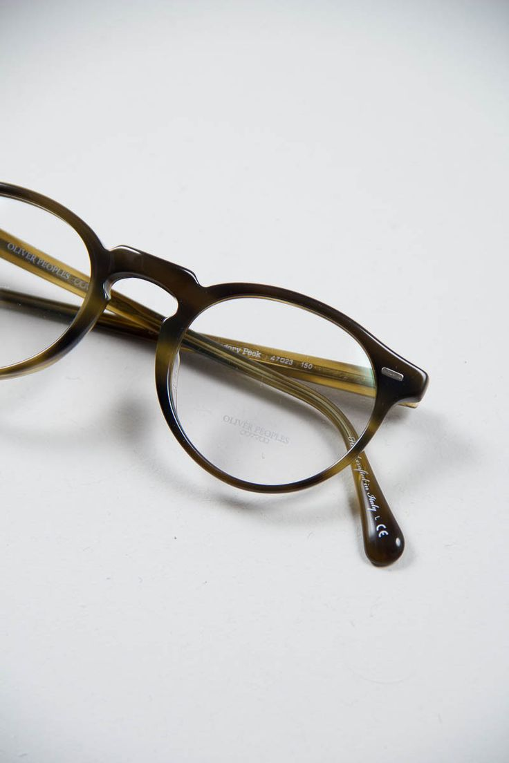 Glasses Frames Tumblr : Oliver Peoples Gregory Peck Optical Frame in Moss ...