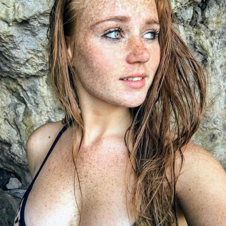 Mature Naked Woman With Freckles