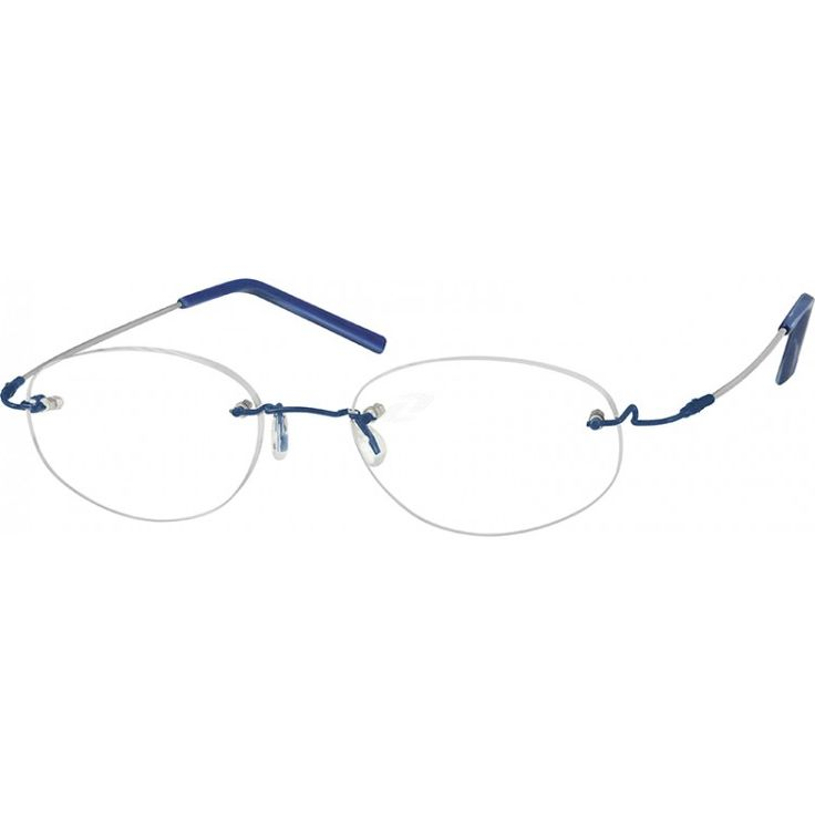 Rimless Glasses Lens Shape : 17 Best images about Rimless Frames on Pinterest Metal ...