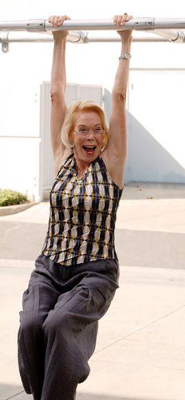 80代になってもこの元気なルイーズ。世界を癒す ルイーズヘイ