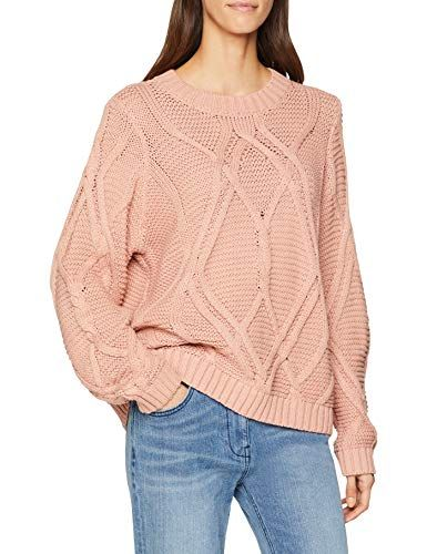 Vero Moda Vmalia Cable LS O-Neck Blouse Boo suéter para Mujer Rosa Misty  Rose eacacc592c18